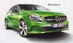 Allrad-PKW Mercedes A
