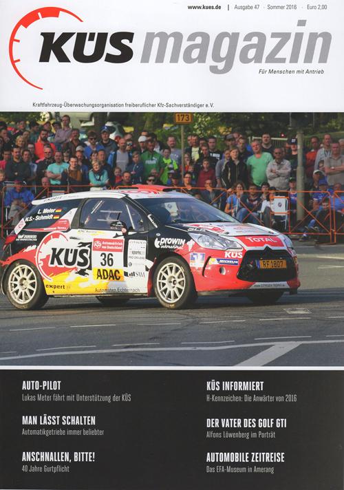 KÜSmagazin - Ausgabe 47 - Sommer 2016